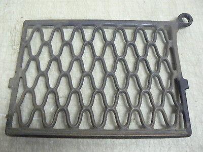 Antique Singer Sewing Machine No.6 Cabinet Parts: Cast Iron Base Treadle Tread