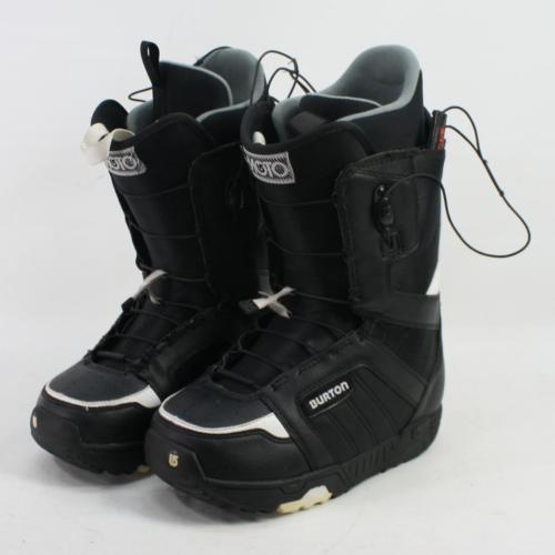Burton Moto Snowboard Boots Men's Size US 7 EU 40 BLACK EXCELLENT