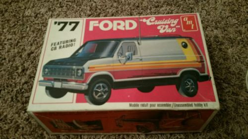 40 year old original and only issue of the AMT 1977 Ford Cruising Van