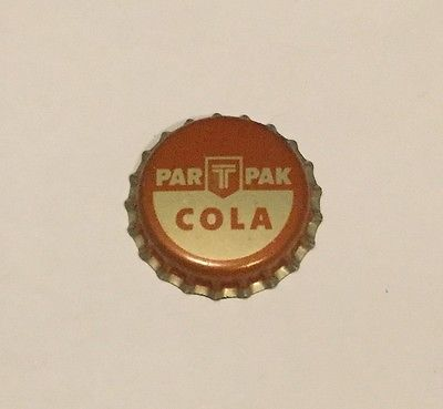Vintage Par T Pak Cola cork lined soda bottle cap