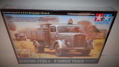 Tamiya 1:48 German 3 Ton 4x2 Cargo Truck #32585 NIB