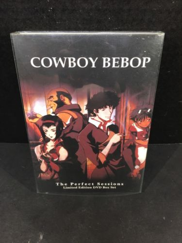 Cowboy Bebop - The Perfect Sessions - Limited Edition 3-DVD Box Set Anime Series