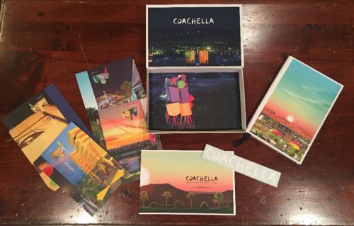 Coachella Music Festival Weekend 1 Souvenir Box (No Ticket) 04/14/17 (Indio)