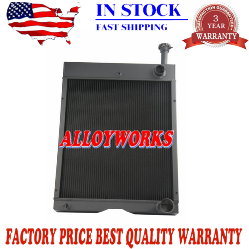 New International Tractor Radiator 1486/ 1566/ 1586, HYDRO 100, and HYDRO 186