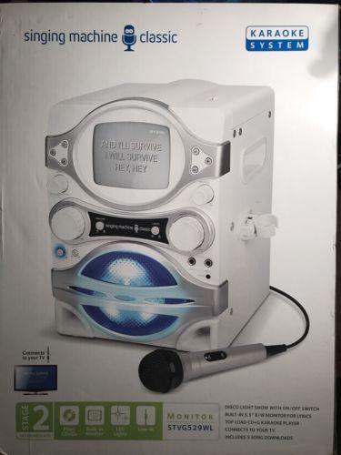 NEW Signing Machine Classic Karaoke System, STVG529WL.