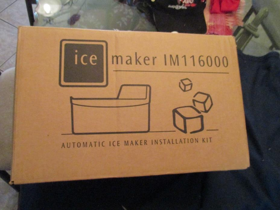 New, Never Out Of Box Ice Maker IM 116000 Frigidaire Sears Kenmore Electrolux