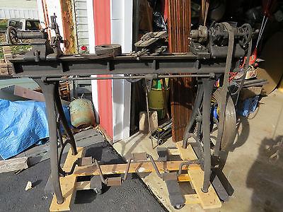 antique pedal   lathe