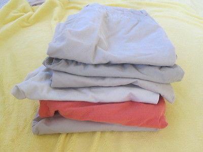Lot of 6 pairs Boys Old Navy uniform shorts size 16 reg tan khakis