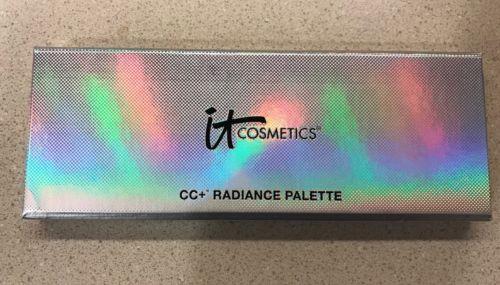 It Cosmetics CC  RADIANCE PALETTE Brightening pwdr, matte blush & matte bronzer