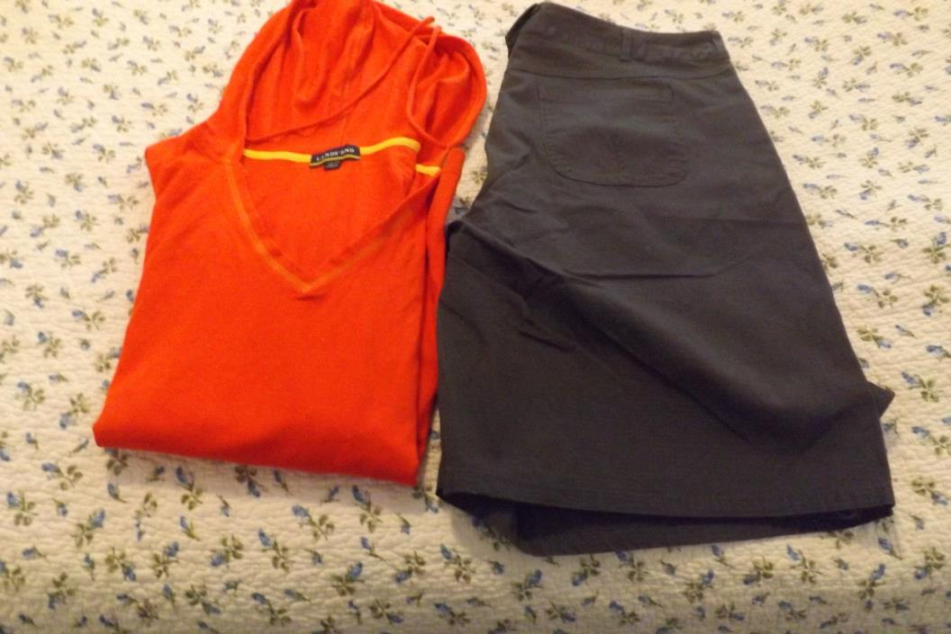lot of shorts and Top