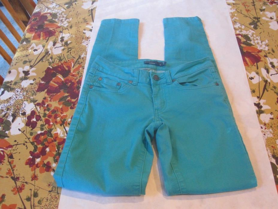 PrAna Jeans Sz. 0. Turquoise. Very Cute