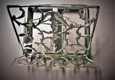 Decorative Brass Book Holder/Easel -- Adjustable