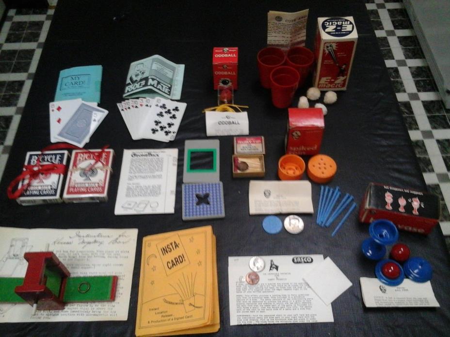 Magic Tricks Lot No. 1