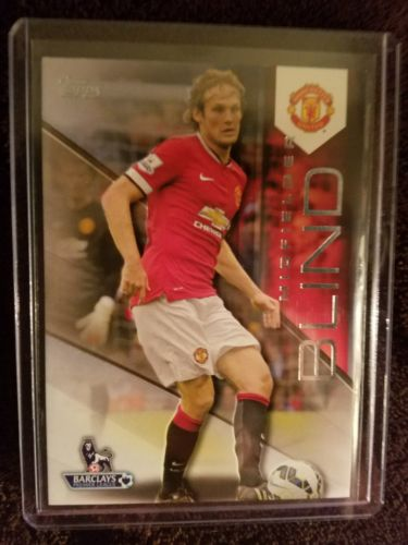 Daley Blind 2014 Topps Manchester United Futbol Trading Card #81