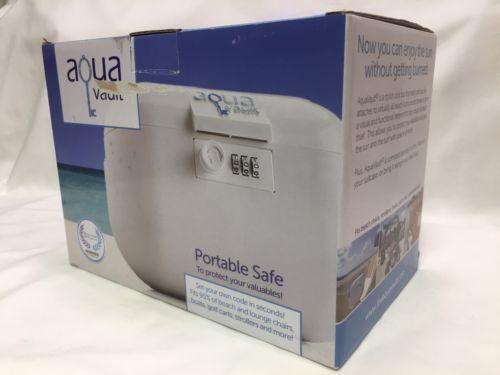 Aqua Vault Portable Safe - Programmable Lock Box