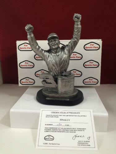 1998 Dale Earnhardt FINALLY Collectible Sculpture Statue NASCAR