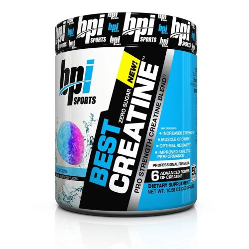 BPI Sports Best Creatine, 10.58 Ounce - Snow Cone NEW