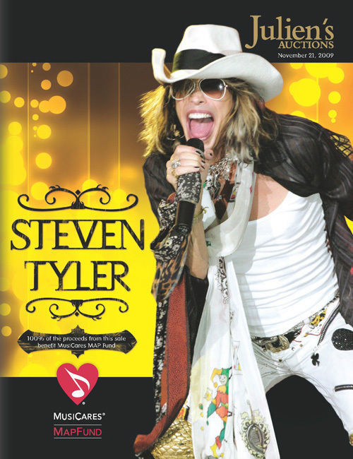 JULIENS STEVEN TYLER  AUCTION 11/21/2009