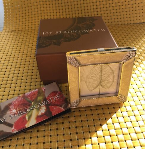 Jay Strongwater Small Picture Frame with Crystals 3x3