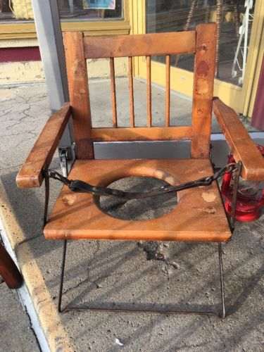 Antique Primitive Potty Chair