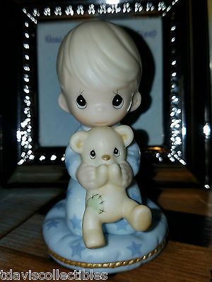 I PRAY LORD MY SOUL TO KEEP ~ Boy Pajama Bear ~ Frame ~ Precious Moments 553867