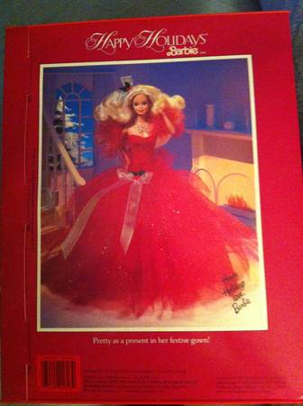 1988 HOLIDAY BARBIE (West Chester)