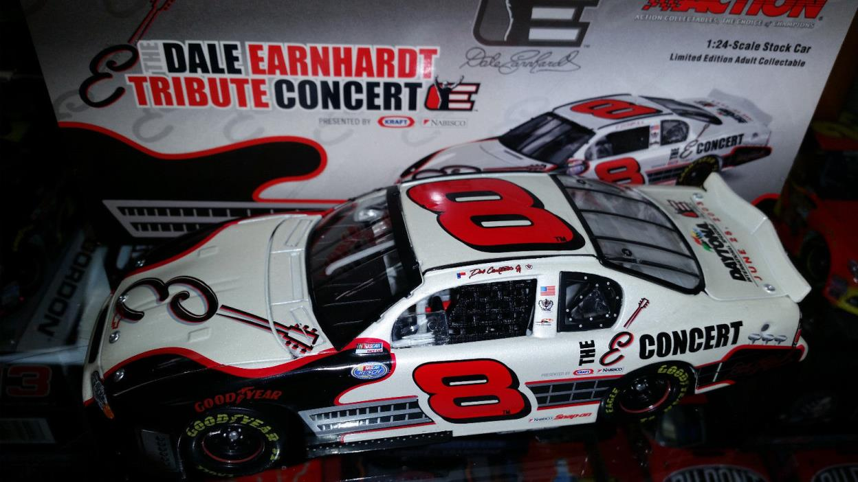Dale Earnhardt jr Tribute Concert 1/24 Action Diecast