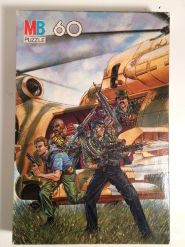 Vintage G.I. 60 Piece Puzzle Complete Milton Bradley