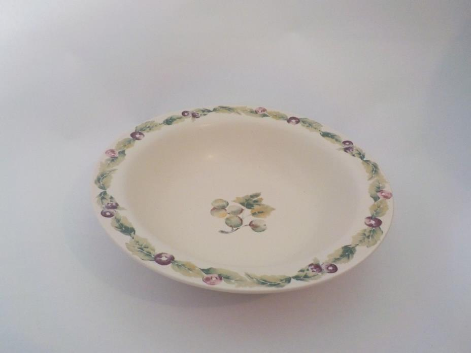 PFALTZGRAFF JAMBERRY Retired Large Serving Bowl/Salad/Veg. Bowl..9-3/4