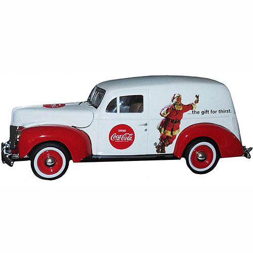 Coca-Cola 1940 Diecast Panel Van Santa the Gift for Thirst 1:24 Scale