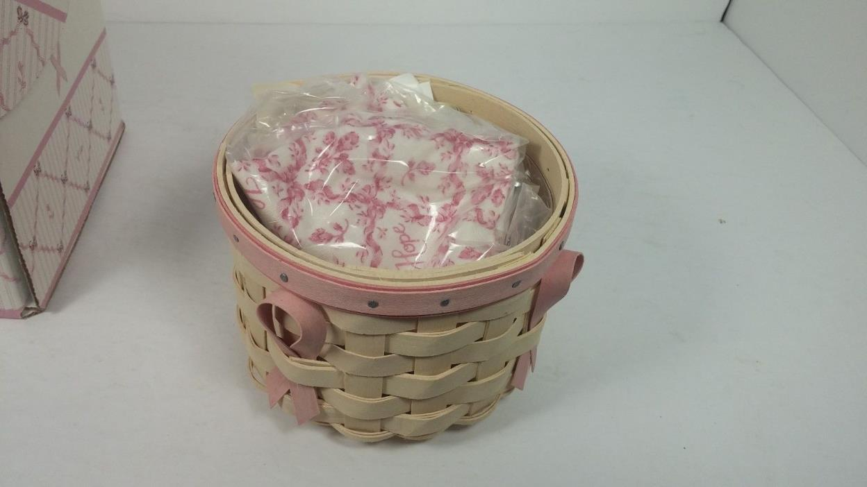 Longaberger Horizon of Hope Basket 100% New with Box