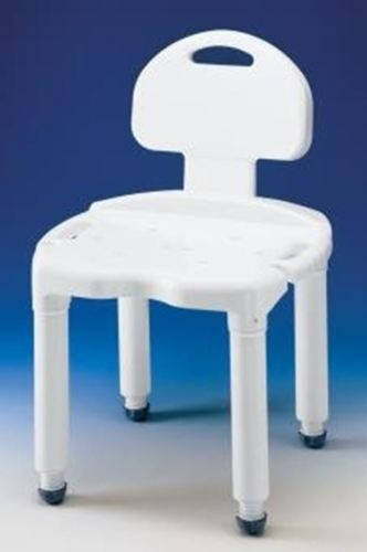 Universal Bath Bench with Back - 1 Each / Each