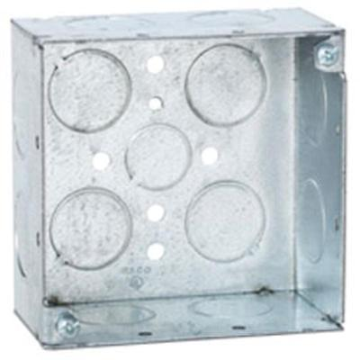 1-Gang Square Box Raco Outlet Boxes 8231 050169002315