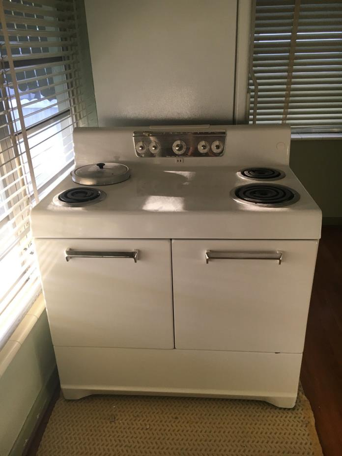 Vintage Ge Electric Stoves For Sale ~ Antique electric stove for sale classifieds
