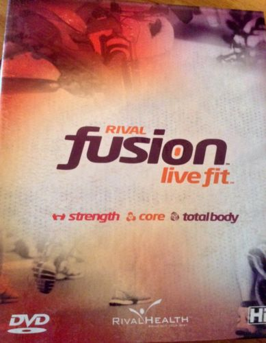 Rival Health Fusion Live Fit Workout DVDs