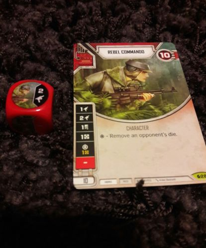 Star Wars Destiny Spirit of Rebellion Rebel Commando