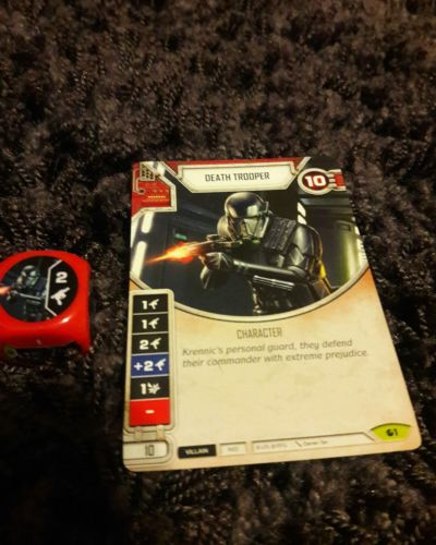 Star Wars Destiny Spirit of Rebellion Death Trooper