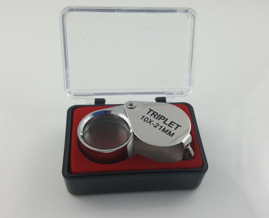 Jewelers Loupe Triplet 10x -21MM (NEW)