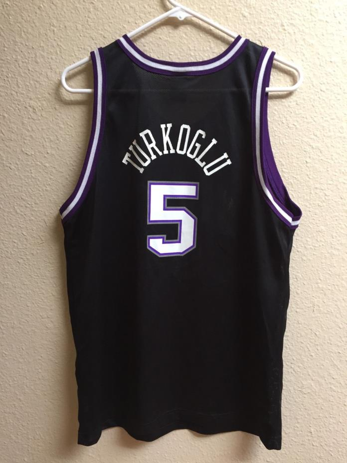 Vintage Sacramento Kings Hedo Turkoglu Champion jersey sz youth XL (18-20)