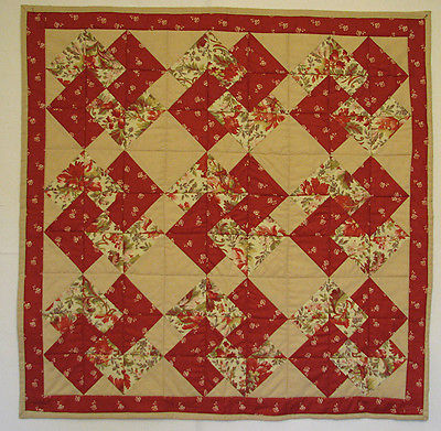 Quilted Table Topper, Patchwork, Handmade, Table Runner, HMJQuiltsPlus