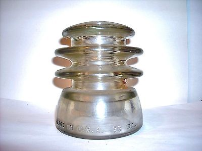 ?Armstrong Glass Insulator?92  55~ EC - (d) Collectible!