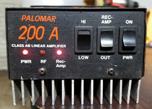Palomar 200a Class AB Linear Amplifier for Ham Radio CB Radio