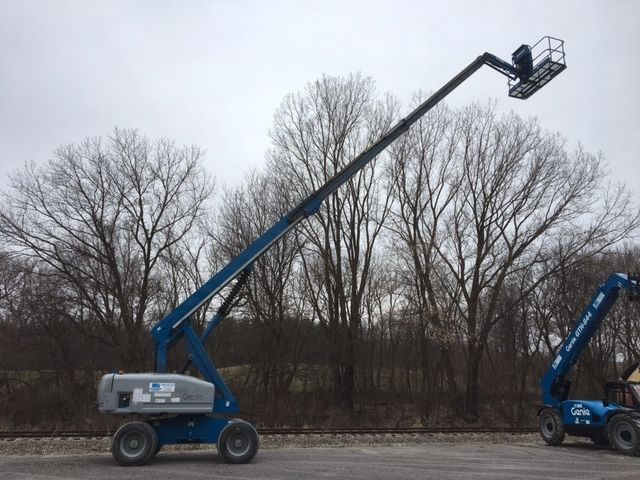 2007 Genie S65 65' Boomlift Aerial Lift 4x4 Welder Ready