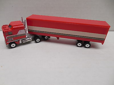 BJ And The Bear YATMING Kenworth K100 COE Aerodyne 108 Semi Truck & Trailer RARE