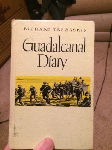 First Edition Guadalcanal Diary Richard Tregaskis