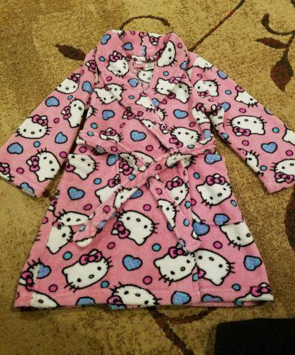 Hello kitty robe size 6t