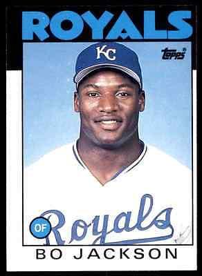 1986 Topps Traded Bo Jackson #50T