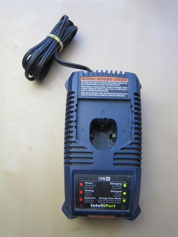 Ryobi 140153002 P115 18v 18 volt ONE+ Plus NiCad battery charger IntelliPort
