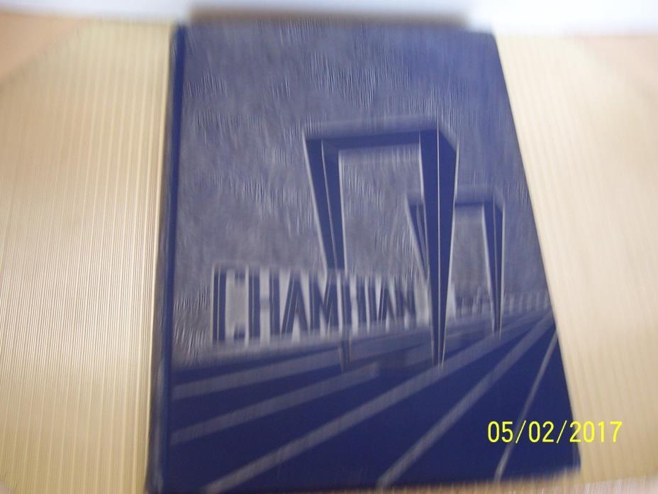 High School Yearbook Chamblee Georgia GA Chamblee High School Chamhian 1959