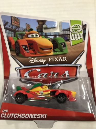 Disney Pixar Cars 2 • Rip Clutchgoneski • 2014 WGP World Grand Prix